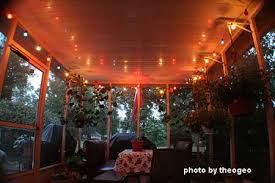 outside lighting ideas for parties. Party Lights On The Porch Outside Lighting Ideas For Parties
