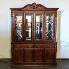 hutch with glass doors large wooden hutch with glass doors white corner hutch with glass doors