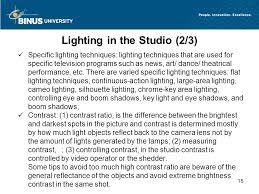 15 lighting