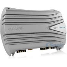 sony xm 604m 600w 4 channel marine class ab amplifier added to cart