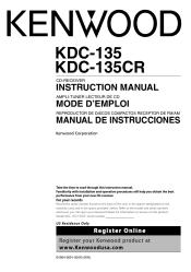 kdc manuals kenwood radio cd player