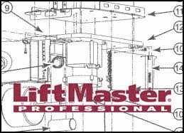 liftmaster parts breakdown and schematics liftmaster garage door opener replacement parts and hardware parts breakdown and schematics