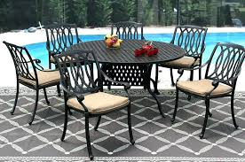 60 round outdoor dining table inch round outdoor dining table cast aluminum outdoor patio dining set inch round table series
