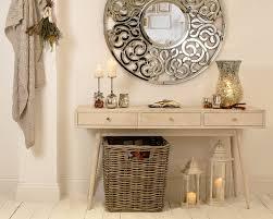 white washed mango wood. Saya White Mango Console - White-washed Wood Table With 3 Drawers, Washed