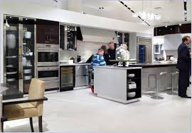 stainless steel framed glass door pantry cabinet and modern stainless steel kitchen appliance package gallery