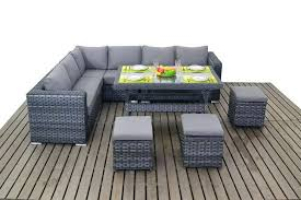 medium size of grey wicker table and chairs rattan 8 buff faux garden chair set dining