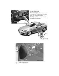 mercedes benz workshop manuals \u003e slk 280 (171 454) v6 3 0l (272 942 mercedes slk fuse box location at Mercedes Slk Fuse Box Location