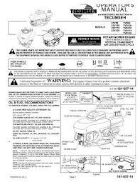 Lev100 Mtd Rotary Mower Engine Manual