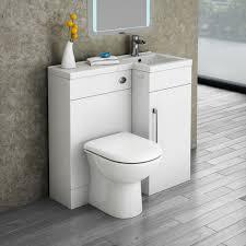 Shower Toilet Combo Valencia 900mm Combination Bathroom Suite Unit Round Toilet