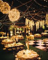 outside wedding lighting ideas. Simple Outside Welllit Reception Space At Night With Outside Wedding Lighting Ideas I