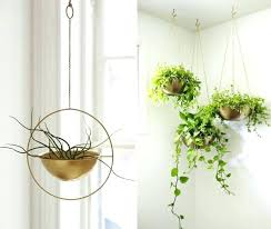 diy hanging plant holder hanging planter ways to purify the environment com diy macrame hanging plant