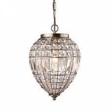 searchlight 3991ab pineapple 1 light ceiling pendant antique brass