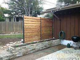 patio walls for privacy patio privacy privacy fence industrial simple privacy fence for deck