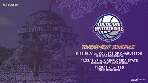 lsu hoops opens with charleston in advocare tourney lsusports net the official web site of lsu tigers athletics