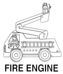 Small Picture Free fire truck coloring pages for kids ColoringStar