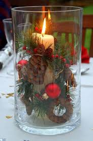Christmas Table Decoration - 12 Brilliant DIY Christmas Centerpiece Ideas |  GleamItUp