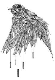 鳥 イラスト かっこいい 7331 イラス