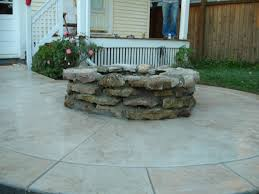 awesome poured concrete patio 1000 images about patio ideas on design cement and residence decorating
