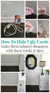 How To Hide And Organize Unsightly Cords Fox Hollow Cottage Medium size ...