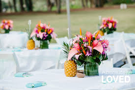 Tropical Table Decor Part 10