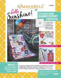 Kimberbell Designs Kimberbell Designs Hello Sunshine Machine Embroidery Cd