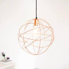 rose gold pendant light copper light copper orb chandelier