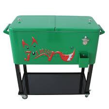 patio cooler cart rolling drink cooler rolling beer cooler
