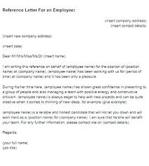 Recommendation Letter For Employment Sample Recommendation Letter Template From Employer Sample Employee
