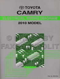 2010 toyota camry wiring diagram manual original