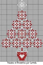 En Rouge Et Blanc Christmas Cross Stitch Patterns