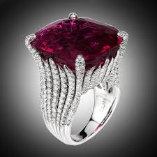 Dazzling Women Fashion <b>925 Sterling Silver</b> Natural Ruby Diamond ...