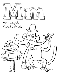 alphabet coloring pages mr printables. free printable alphabet ...