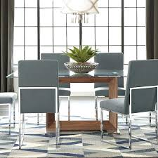 contemporary glass dining table modern glass dining table caesar modern glass dining table set with 6