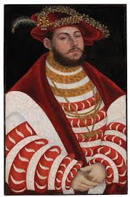 lucas cranach the elder portrait of john frederick i elector of saxony around