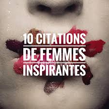 10 Citations De Femmes Inspirantes On My Lipsparis