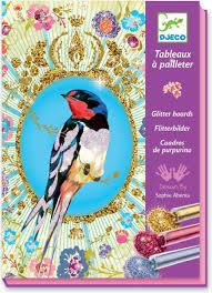 <b>Djeco</b> Раскраска <b>Блестящие птицы</b> — купить в интернет ...