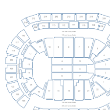 Prudential Center Interactive Concert Seating Chart