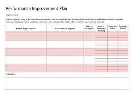 Improvement Plans Templates Home Improvement Plans Template Performance Improvement Plan Sample