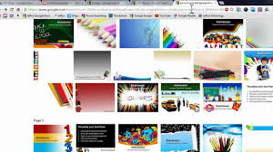 Create A Google Presentation Youtube