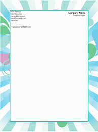 Letterhead Design In Word 50 Free Letterhead Templates For Word Elegant Designs