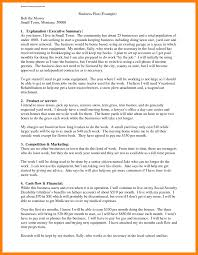 Business Plan Executive Summary Template Farmer Resume Templa Cmerge