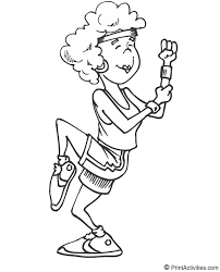 Small Picture 209 best Printables Sports images on Pinterest Coloring sheets