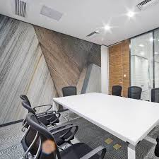 Wall murals for office Forest Elegant Wall Mural In Office Conference Room Eazywallz Wall Mural Ideas For Corporate Offices Eazywallz