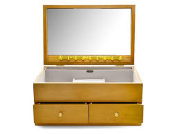 default image mele co champagne rose gretel large wooden jewellery box p5540alternative image1