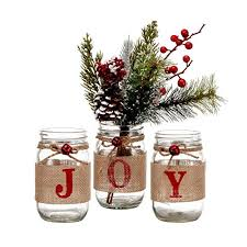 Mason Jar Holiday Decorations Best Mason Jar Christmas Decorations Color And Style 49