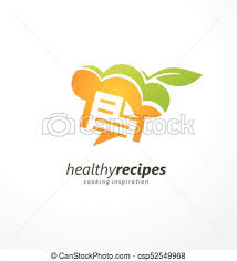 healthy recipes clipart.  Clipart Healthy Recipes Cooking Inspiration Creative Logo Design Idea With Chef Hat  And Green Leaf Food Concept For Restaurants Diners Or Bloggers Intended Recipes Clipart R