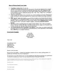 Write A Good Cover Letter For Resume Adriangatton Com