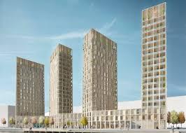 ... Wooden Highrise by Tham & Videgrd Arkitekter