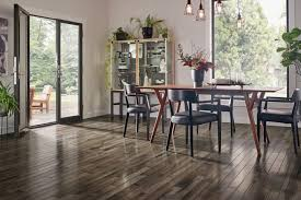 inspired gray hickory solid hardwood in the kitchen sahrr39l4ig