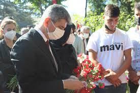 15 Temmuz şehitleri Karşıyaka Mezarlığı 'nda anıldı - 15Haber
